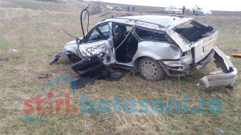 Bărbatul rănit în accidentul din duminica Floriilor, transferat la Iași în stare gravă!