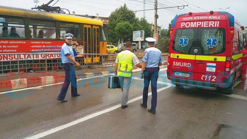 Bărbatul rănit pe trecerea de pietoni de la Stadion, transferat la Iași! Se află în stare critică!