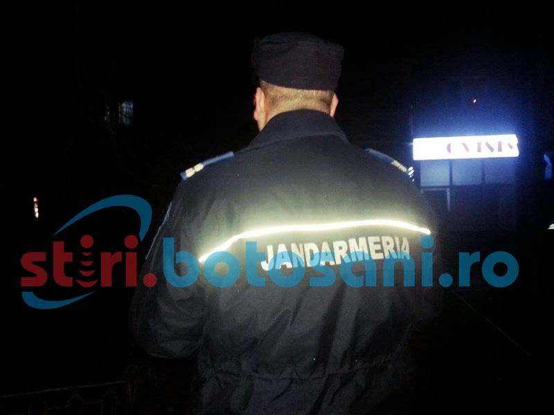 Doi soţi s-au bătut într-un apartament din Botoşani! Au intervenit jandarmii!