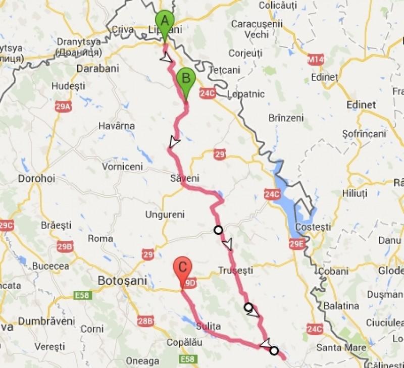 Bătaie pe proiectarea drumului strategic din județul Botoșani