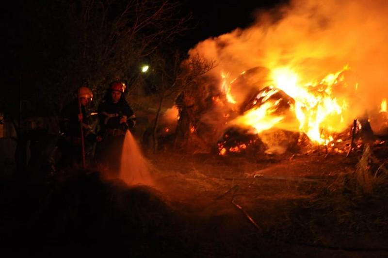Bătrân ucis într-un incendiu la Vlăsineşti