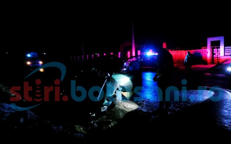 Beat și fără permis, a lovit cu mașina un cap de pod și a adormit la volan