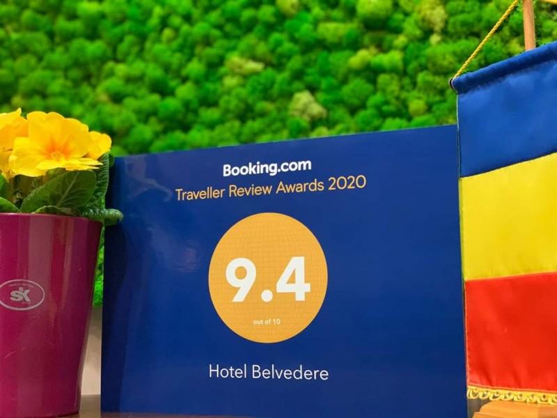 Belvedere Hotel, 9,4 nota pe Booking, calificativ Superb