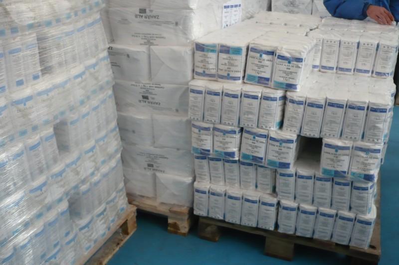 Beneficiarii ajutoarelor acordate de Guvern nu s-au grabit sa-si ridice produsele!