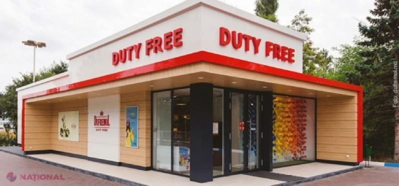 Benzinăriile, magazinele și restaurantele duty free la intrarea în Republica Moldova vor fi INTERZISE
