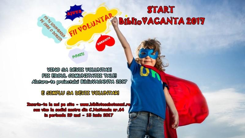 BiblioVacanţa 2017, pregătită de start!