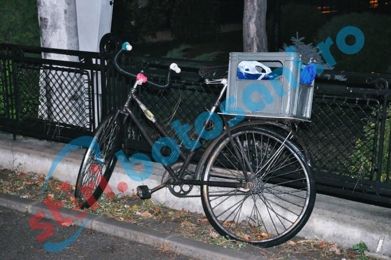 Plimbare nocturnă cu o bicicletă furată, întreruptă de poliţişti!
