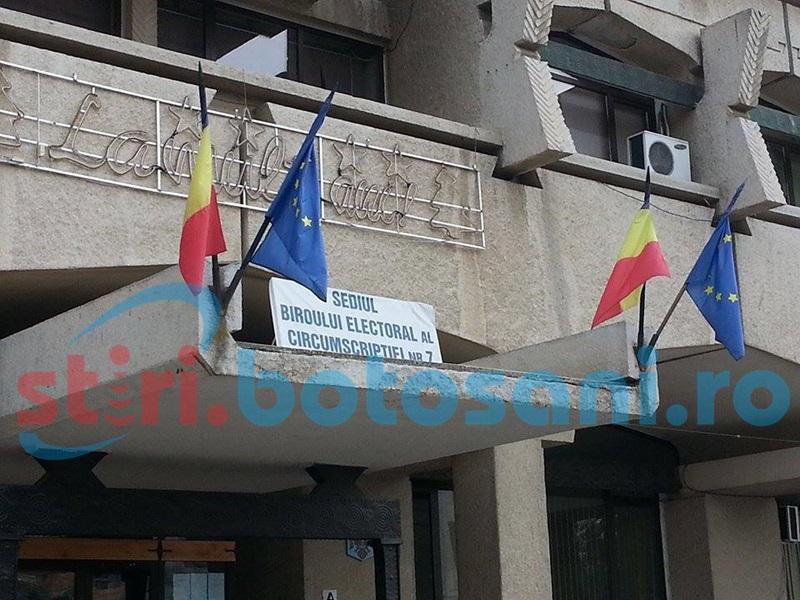 Biroul Electoral de Circumscripţie Botoşani, completat cu membrii partidelor politice