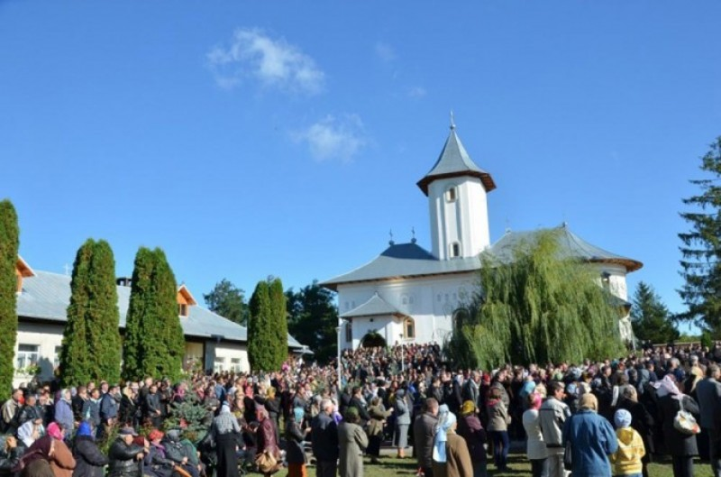Biserica Mănăstirii Gorovei, resfinţită de IPS Mitropolit Teofan