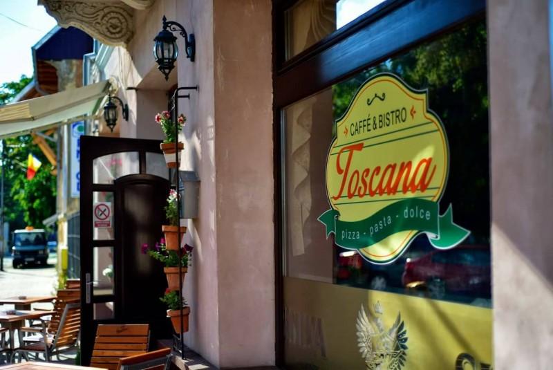 Bistro Toscana, în inima orașului