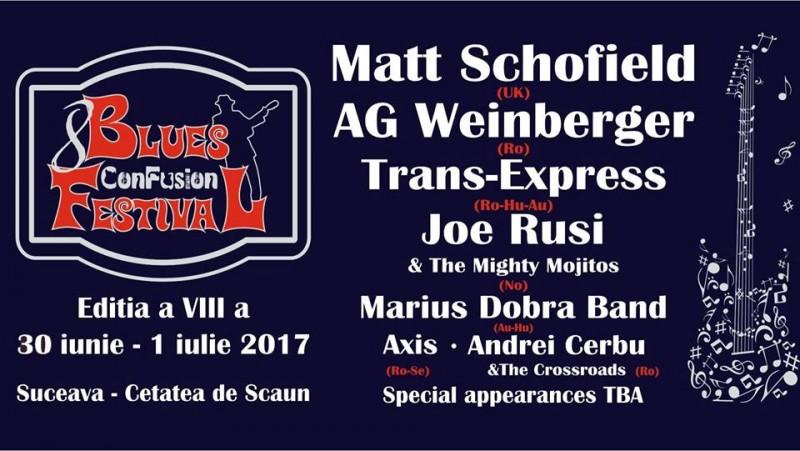 Blues la Cetate, cu Matt Schofield, A.G. Wienberger și Joe Rusi!
