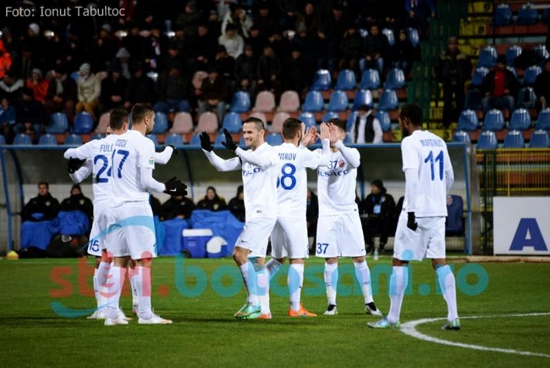 BOMBA la Turnu-Severin: FC Botosani a facut instructie cu Pandurii, reusind o victorie cu 3-0! Vezi VIDEO!