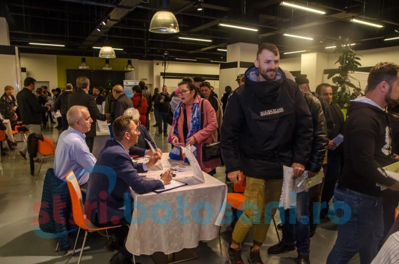 Botoșani: 296 persoane selectate în vederea încadrării la Bursa Generală a Locurilor de Muncă!