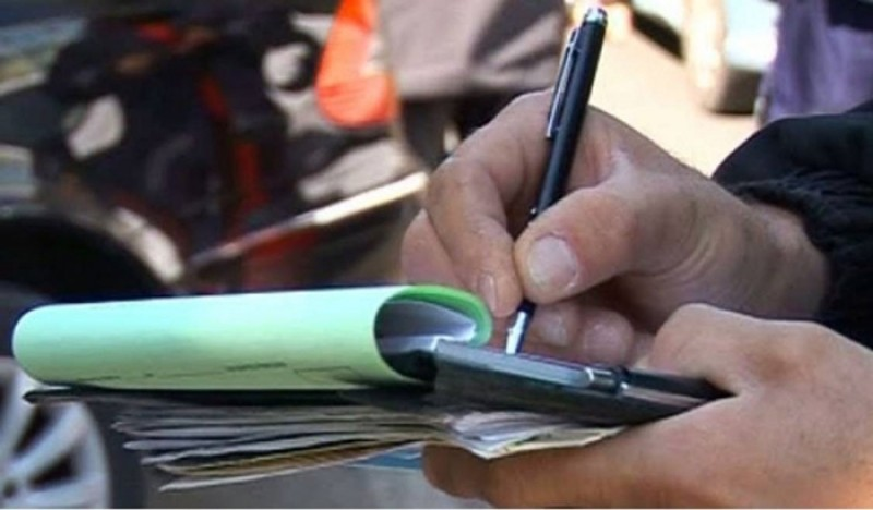 Botoşănean amendat pentru injurii proferate în public