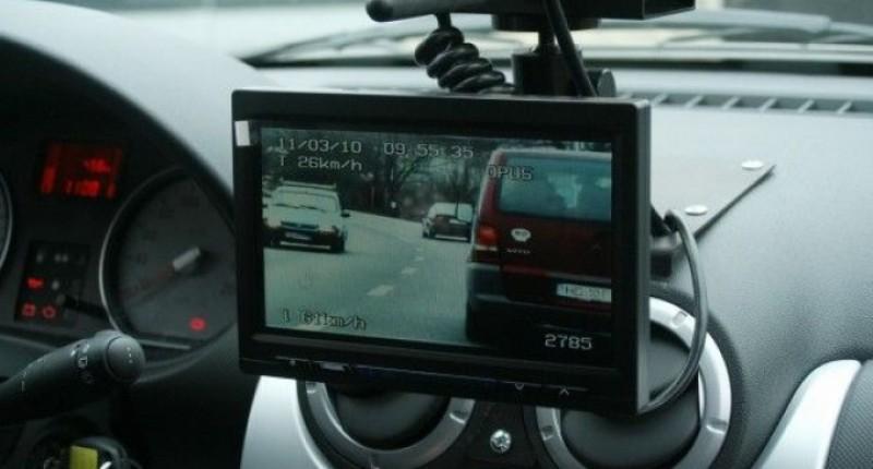 Botoșănean amendat pentru viteză, pe drumul european!