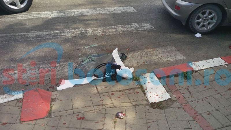 Botoşănean cercetat pentru vătămare corporală după ce a provocat un accident în Dorohoi
