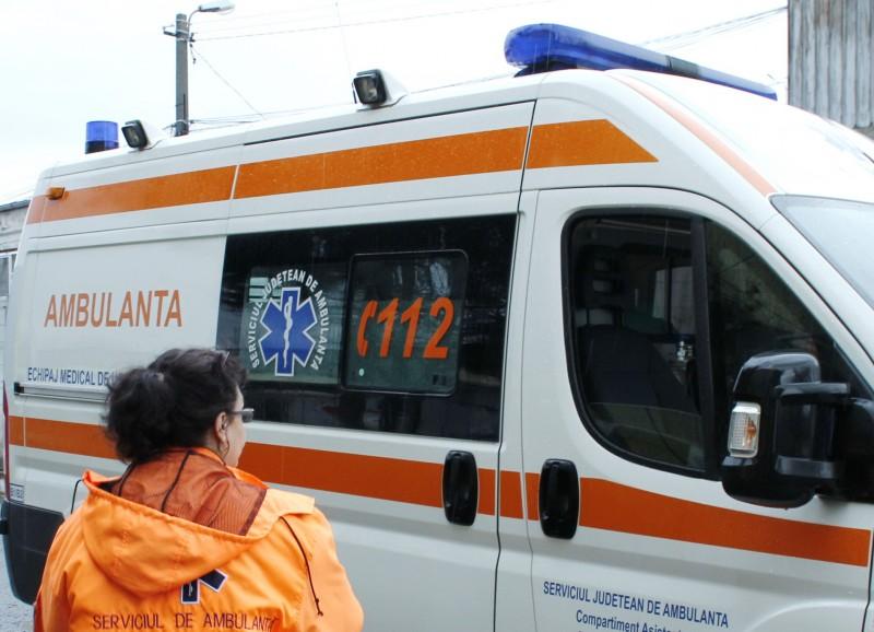 Botoșănean implicat într-un accident, un copil de 9 ani a ajuns la spital!
