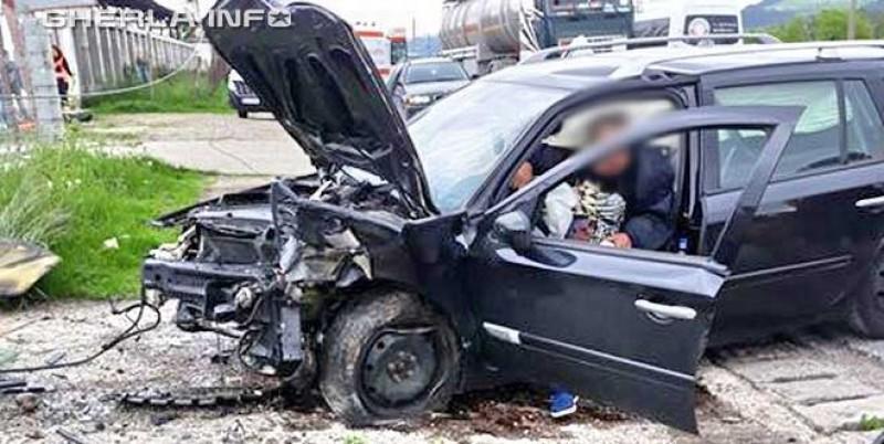 Botoșănean implicat într-un grav accident în județul Cluj! FOTO, VIDEO