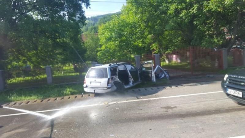 Botoşănean implicat într-un grav accident rutier! O persoană a decedat!