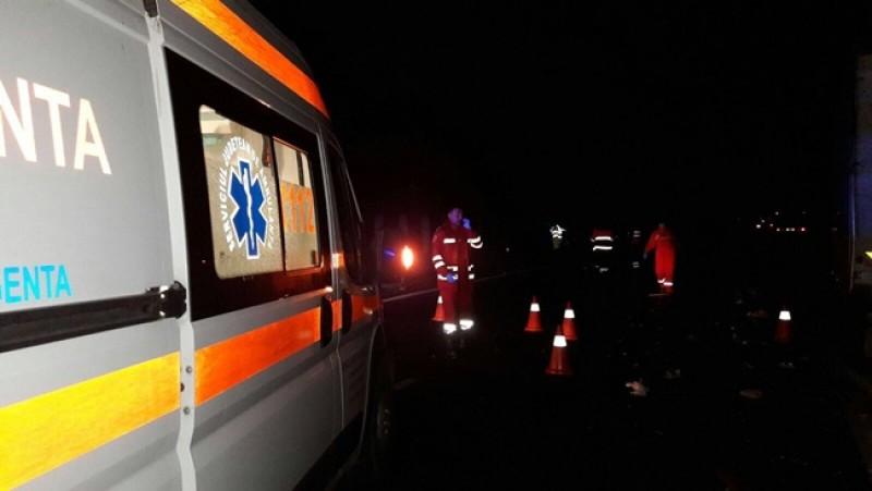 Botoșănean omorât de un autotren pe Autostrada Timișoara-Arad, după ce a coborât să ajute un prieten! VIDEO