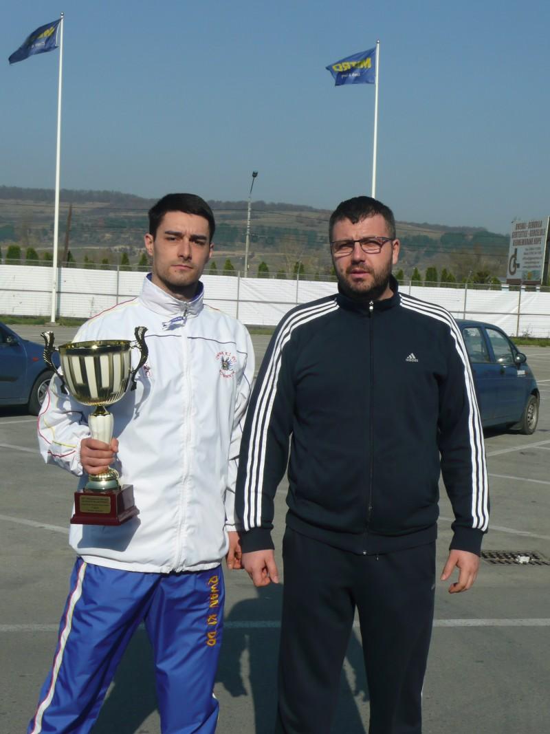 Botosanean premiat cu MEDALIA DE AUR la Campionatul European de QWAN KI DO - FOTO