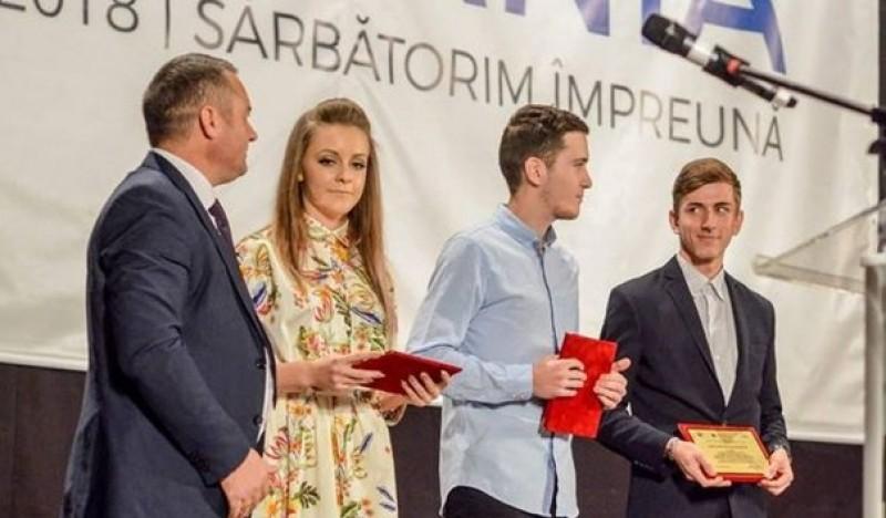 Botoșănean premiat la Gala Studentului Ieșean 2018!