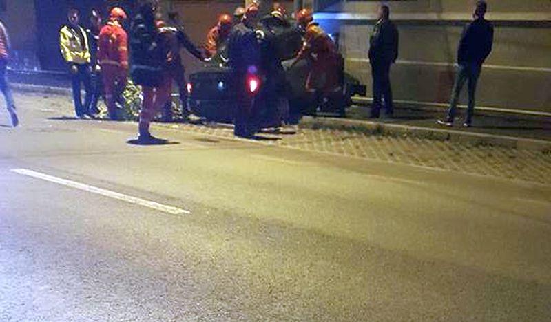 Botoşănean rănit grav într-un accident rutier! Şoferul a murit!