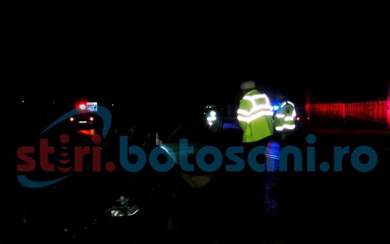 Botoşănean rănit într-un accident produs în municipiul Suceava