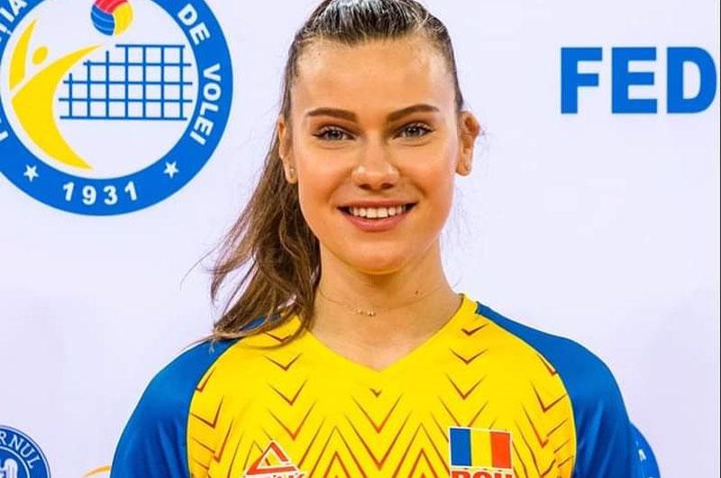 Botoșăneanca Adelina Ungureanu, noul căpitan al Echipei Naționale de volei!