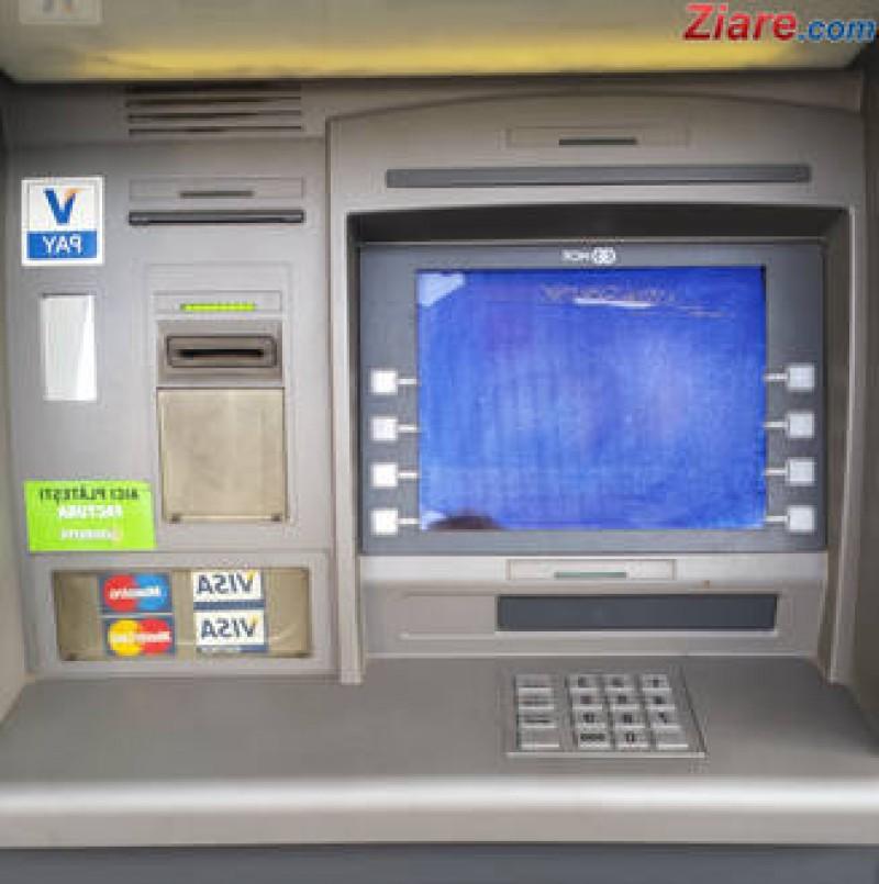 Botoșăneancă prădată după ce a scos bani de la un bancomat!