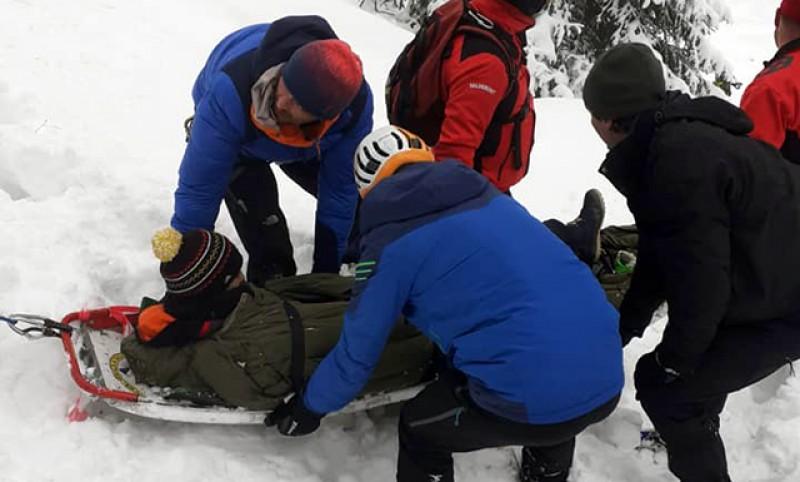 Botoșăneancă rănită grav la Borșa după ce a căzut de pe munte, la Cascada Cailor - VIDEO