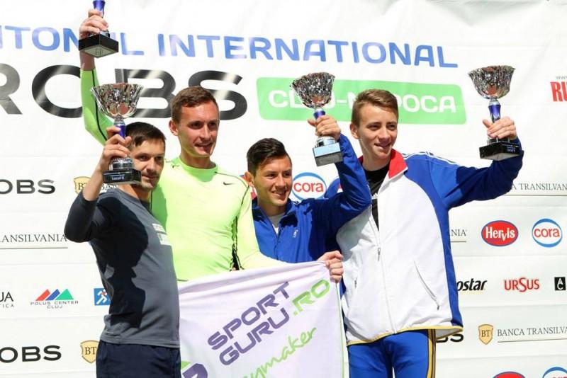 Botosaneanul Alexandru Corneschi, LOCUL 3 la Cluj-Napoca AROBS International Marathon! FOTO