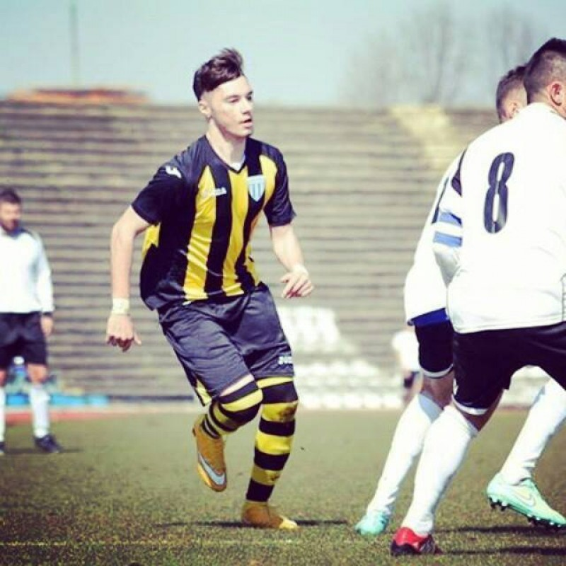 Botosaneanul Andrei Burlacu, convocat la nationala Romaniei U18 pentru doua meciuri cu Danemarca!