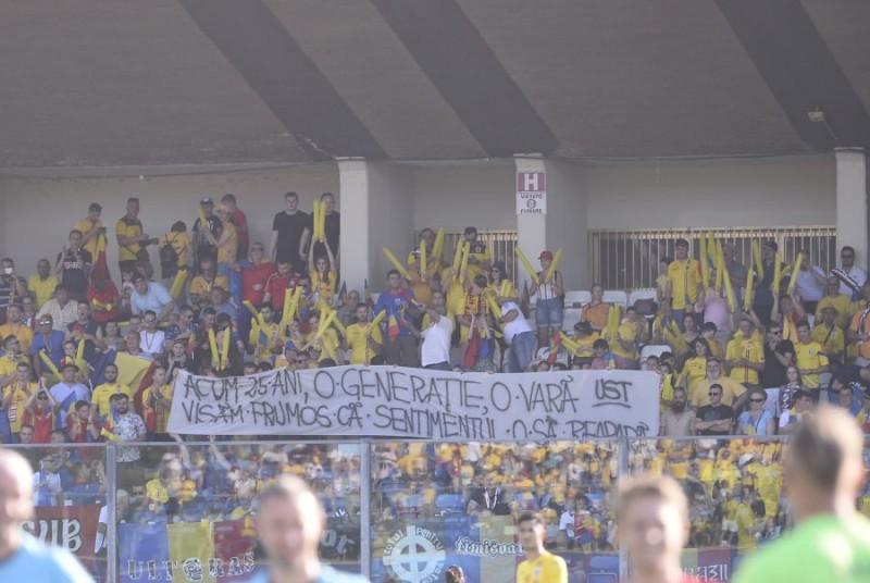 Botoșăneanul care a urmărit meciul România-Croația din tribunele stadionului din San Marino