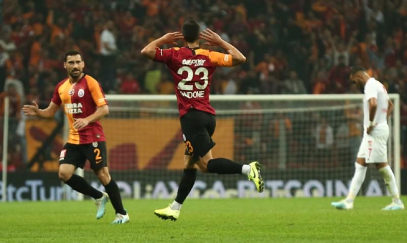VIDEO: Botoșăneanul Florin Andone scrie ISTORIE la Galatasaray! A marcat o dublă și l-a egalat pe Hagi!