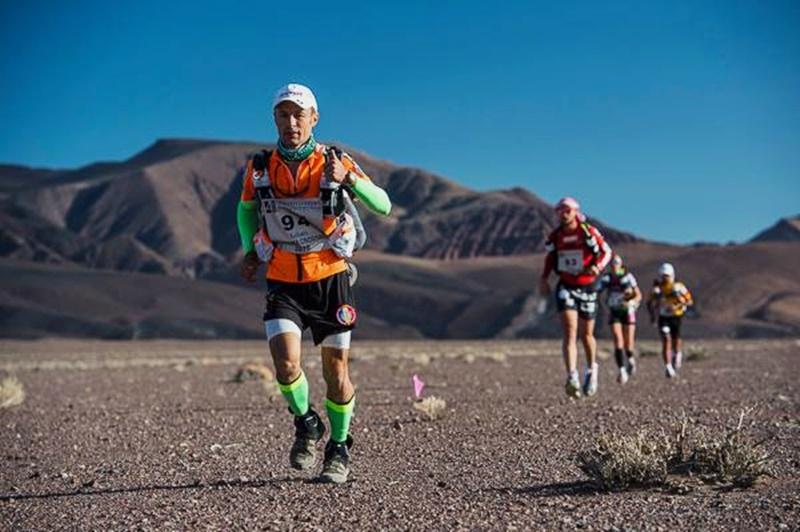 Botoșăneanul Iulian Rotariu, fruntaș în Ultramaratonul din Atacama-FOTO