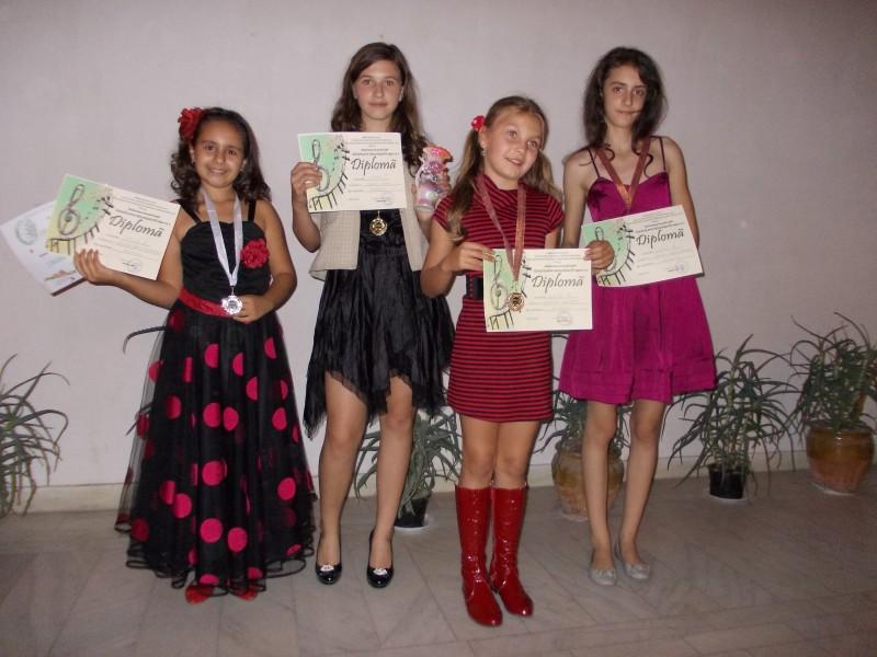 Botosanence pe podium, la un festival muzical de traditie!
