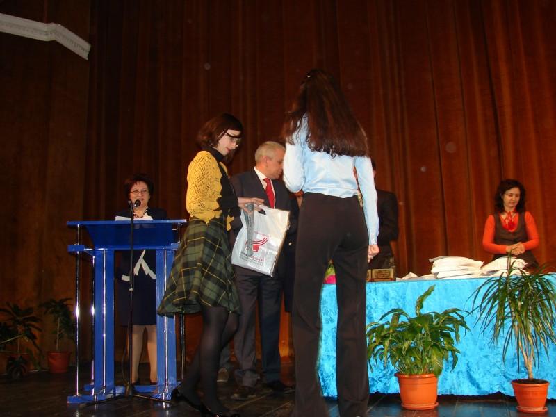 Botoşănence premiate de prefect pentru performanţă în Limbi clasice