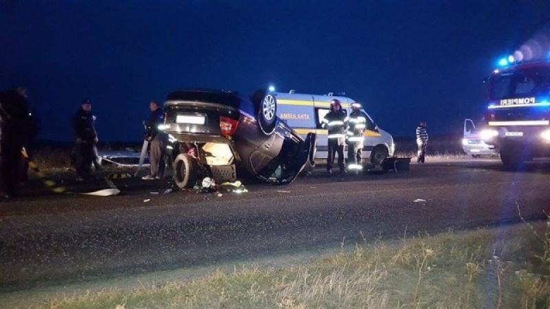Botoşăneni implicaţi într-un grav accident de circulaţie, cu şapte victime! FOTO