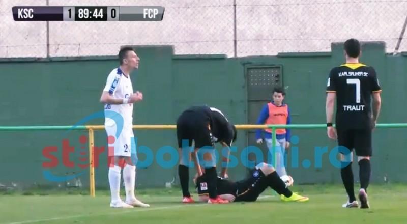 Botosaneni invinsi in amicale! Florin Acsinte a debutat la Pandurii Targu Jiu! FOTO