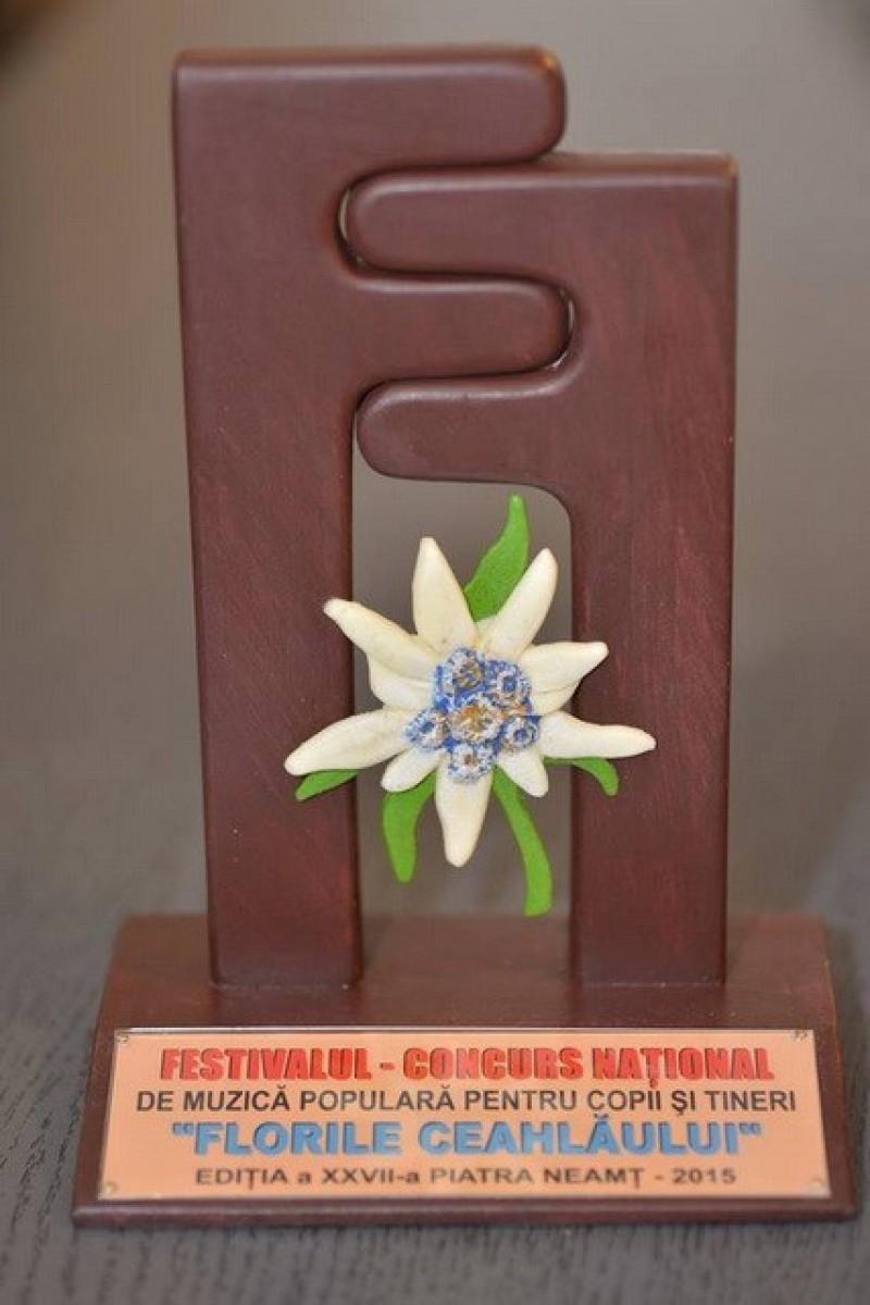 """Botoșăneni laureați ai concursului """"Florile Ceahlăului"""", ediția a XXIX-a"""