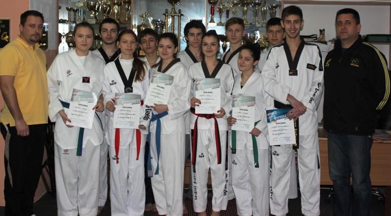 Botosaneni premiati la Campionatele Nationale si Turneele Republicane de Taekwondo WTF