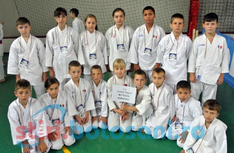 Botosaneni premiati la Campionatul European de Karate! Lista castigatorilor!