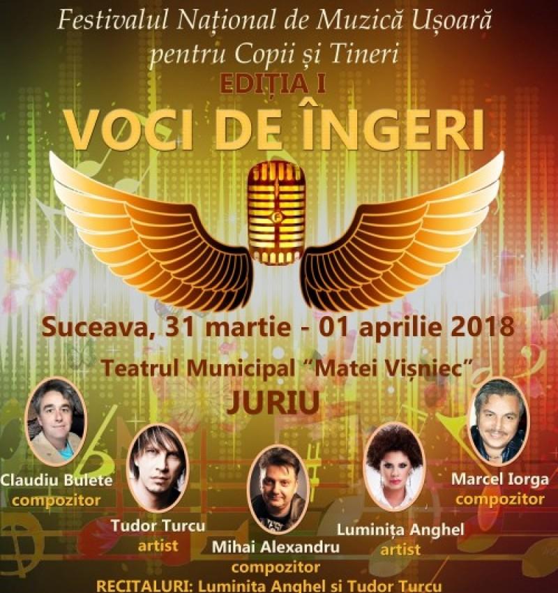"""Botoșăneni premiați la ediția I a Festivalului Naţional de Muzică Uşoară """"Voci de îngeri""""!"""