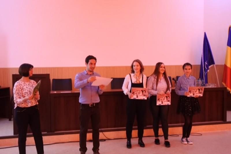 Botoșăneni premiați la un festival de cântec în limba franceză, la Iași