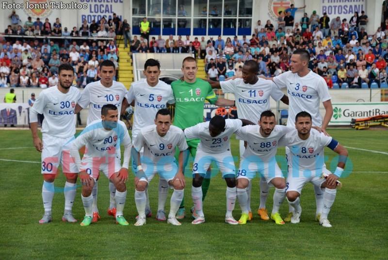 """Botosanenii nu se tem de Legia: """"Sansele un egale. Ne jucam sansa"""""""