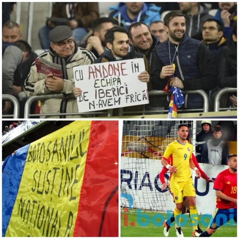 """Botoșănenii, pe Cluj Arena pentru Florin Andone și România: """"Cu Andone în echipă, de iberici n-avem frică"""" - FOTO"""