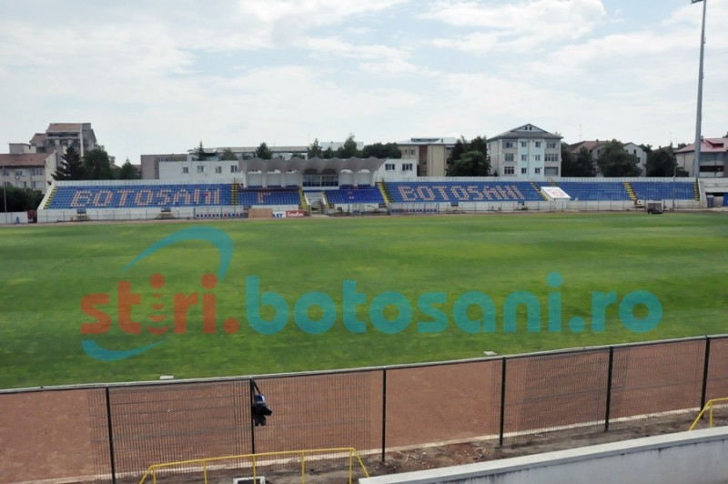 Botoșănenii pot alerga pe Stadionul Municipal