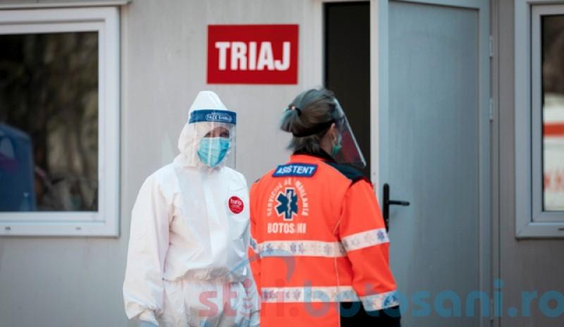 Botoșani, 119 cazuri de coronavirus confirmate până la orele amiezii