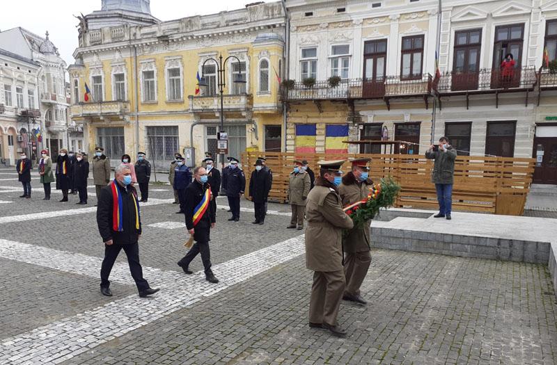 Botoșani, 2020, vreme de pandemie: Ziua Națională sărbătorită pe repede înainte
